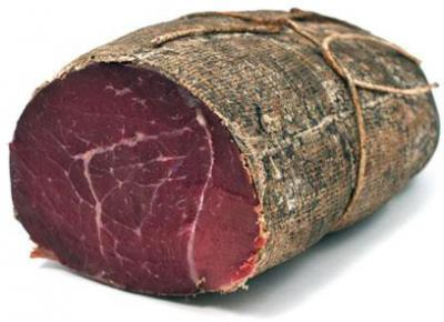 Bresaola from Grigio Alpina race cibo valsana cheese suppliers london