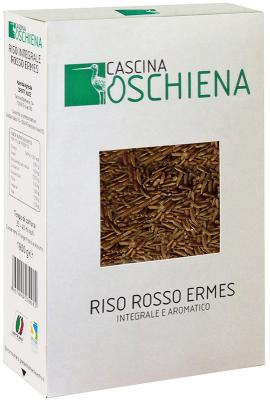 Riso Rosso Ermes Integrale Caschina Oschiena supplier london cibo