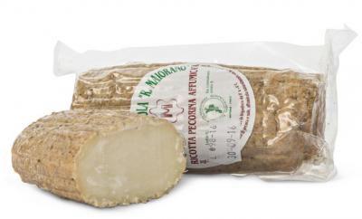 Smoked Sheep's Dried Ricotta cibo valsana cheese suppliers london